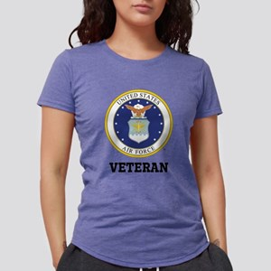 Personalized Air Force Ve Womens Tri-blend T-Shirt