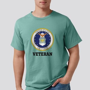 Personalized Air Force V Mens Comfort Colors Shirt