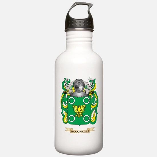 McGonagle Coat of Arms - Family Crest Water Bottle