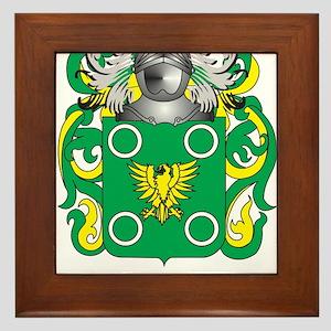 McGonagle Coat of Arms - Family Crest Framed Tile