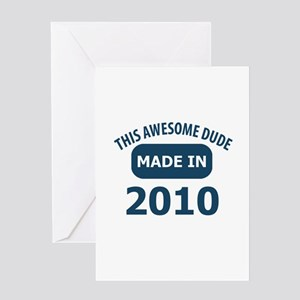 This awesome dude made in 2010 Greeting Card