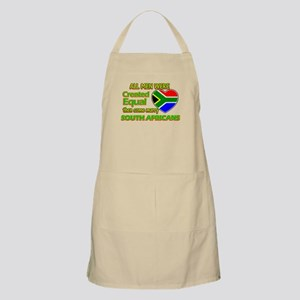 South African wife designs Apron
