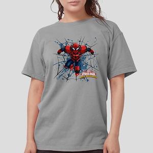 Spyder Knight Web Womens Comfort Colors Shirt