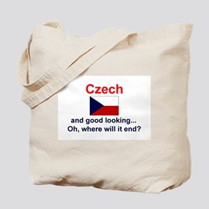 Good Looking Czech Tote Bag