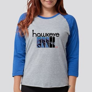 Hawkeye Panels Light Womens Baseball Tee