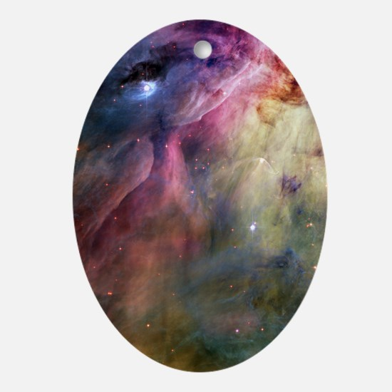 Orion Nebula Oval Ornament