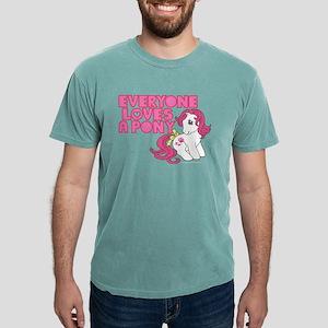 MLP Retro Everyone Loves Mens Comfort Colors Shirt