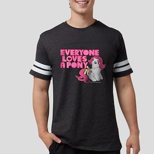 MLP Retro Everyone Loves A Pon Mens Football Shirt