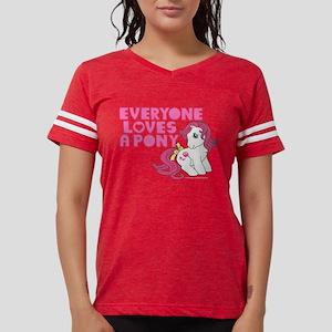 MLP Retro Everyone Loves A P Womens Football Shirt