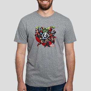 AvengersGroup dark Mens Tri-blend T-Shirt