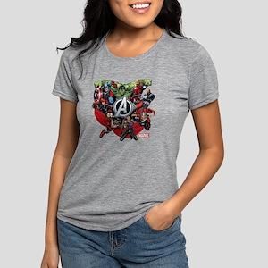 AvengersGroup dark Womens Tri-blend T-Shirt