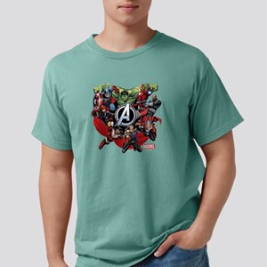 AvengersGroup dark Mens Comfort Colors Shirt