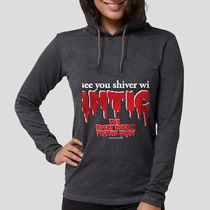 Rocky Horror Anticipation Fron Womens Hooded Shirt