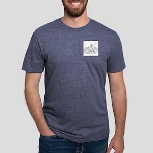 Maintenance badge, Senior   Mens Tri-blend T-Shirt