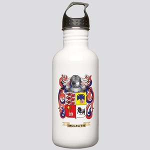 McGrath Coat of Arms - Family Crest Water Bottle
