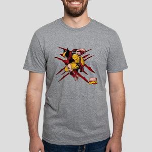 scratches Mens Tri-blend T-Shirt