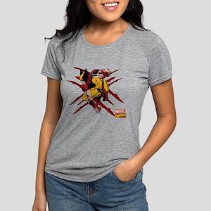 scratches Womens Tri-blend T-Shirt
