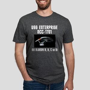 No Bloody ABCorD Mens Tri-blend T-Shirt