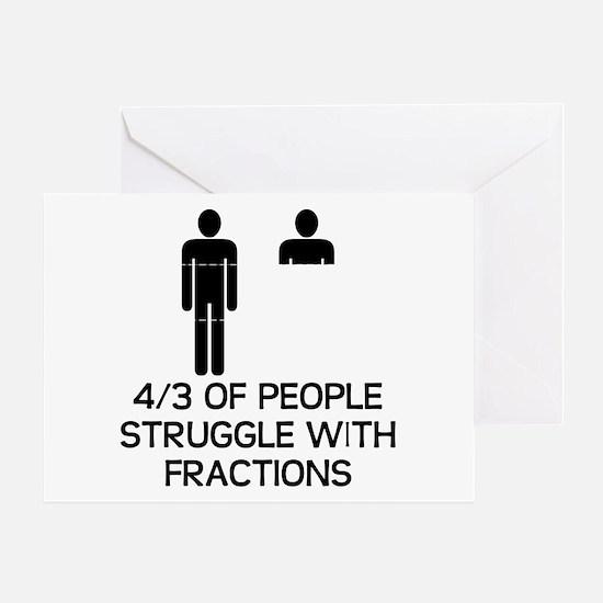Math Humor Greeting Card