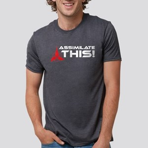 assimilatethis2-01 Mens Tri-blend T-Shirt