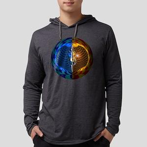 Mirror Universe Mens Hooded Shirt