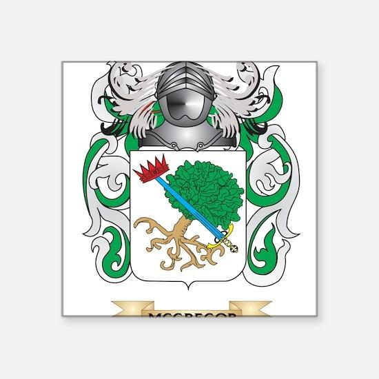 McGregor Coat of Arms - Family Crest Sticker