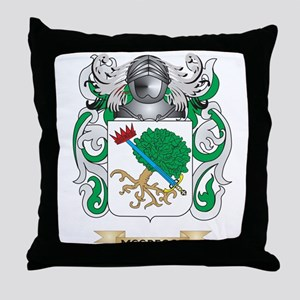 McGregor Coat of Arms - Family Crest Throw Pillow