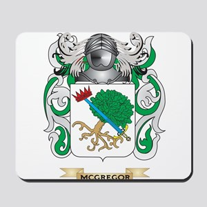 McGregor Coat of Arms - Family Crest Mousepad