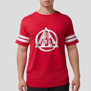 6th Bomb Wing white on trans.g Mens Football Shirt