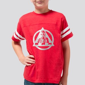 6th Bomb Wing white on trans. Youth Football Shirt