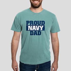 US Navy Proud Navy Dad Mens Comfort Colors Shirt