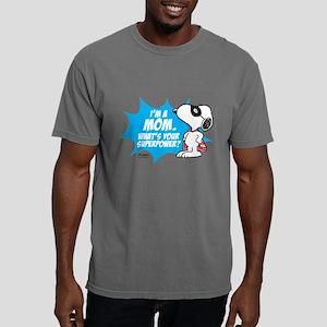 Peanuts Mom Mens Comfort Colors Shirt