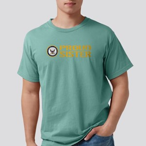 U.S. Navy: Proud Sister Mens Comfort Colors Shirt
