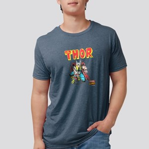 Thor-Slam dark Mens Tri-blend T-Shirt