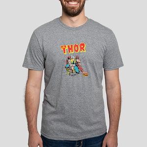 Thor-Slam dark Mens Tri-blend T-Shirt