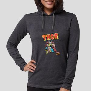 Thor-Slam dark Womens Hooded Shirt