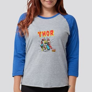Thor-Slam dark Womens Baseball Tee