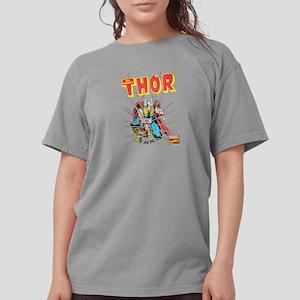 Thor-Slam dark Womens Comfort Colors Shirt