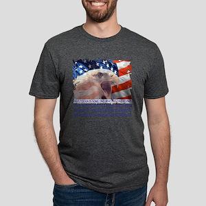 Veteran Blank Check Mens Tri-blend T-Shirt