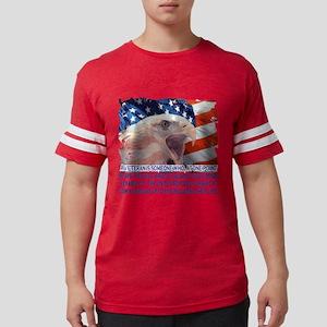 Veteran Blank Check Mens Football Shirt
