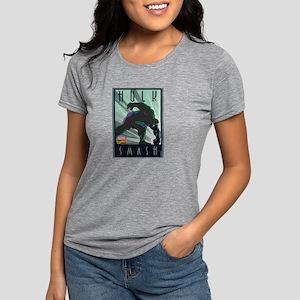 Hulk Smash Decco Womens Tri-blend T-Shirt