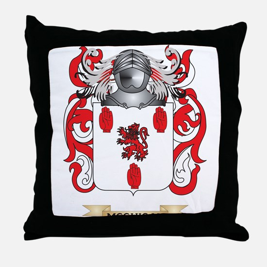 McGuigan Coat of Arms - Family Crest Throw Pillow
