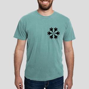 3-F-15 Snowflake1 Mens Comfort Colors Shirt