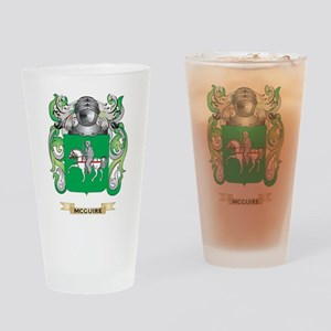 McGuire Coat of Arms - Family Crest Drinking Glass