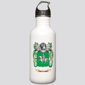 McGuire Coat of Arms - Family Crest Water Bottle