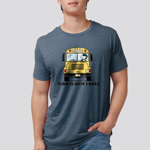 Snoopy - This Is How I Roll Mens Tri-blend T-Shirt