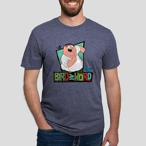 Bird is the Word Light Mens Tri-blend T-Shirt
