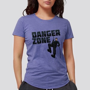 Archer Danger Zone Light Womens Tri-blend T-Shirt