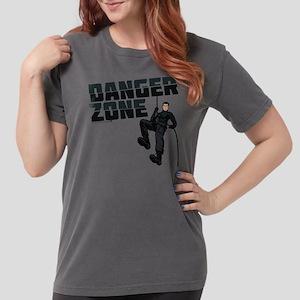 Archer Danger Zone Lig Womens Comfort Colors Shirt