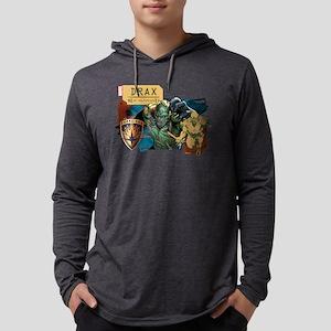 GOTG Drax Rage Mens Hooded Shirt